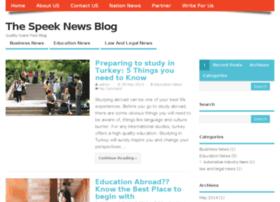 thespeek.info