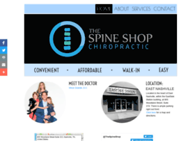 thespineshop.com
