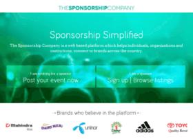 thesponsorshipcompany.in