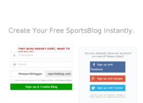 thesportblogger.sportsblog.com