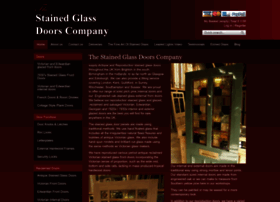 thestainedglassdoorscompany.com