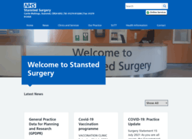 thestanstedsurgery.nhs.uk
