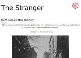 thestrangerblog.com
