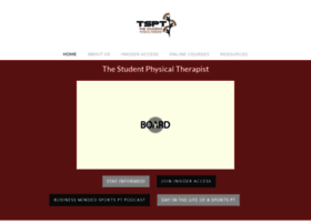 thestudentphysicaltherapist.com