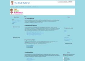 thestudymaterial.com