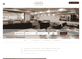 thesuryahotels.com