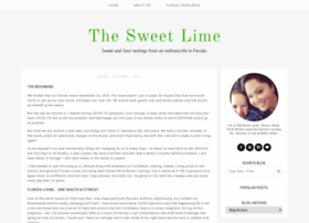 thesweetlime.blogspot.com