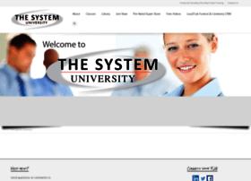 thesystemuniversity.com