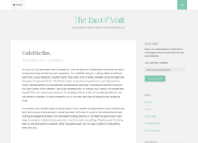 thetaoofmatt.wordpress.com