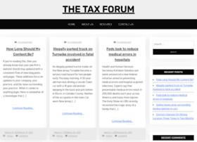 thetaxforum.org