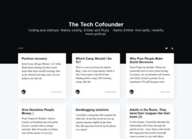 thetechcofounder.com