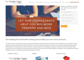 thetenderteam.com.au