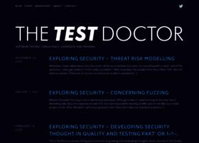 thetestdoctor.wordpress.com