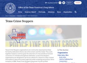 thetexascrimestoppers.org
