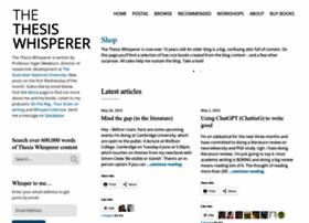 thethesiswhisperer.wordpress.com