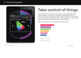 thethingsystem.com