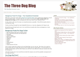 thethreedogblog.com
