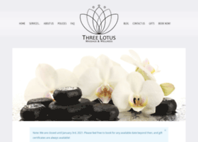 thethreelotus.com