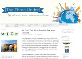 thethreeunder.com