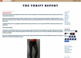 thethriftreport.blogspot.com