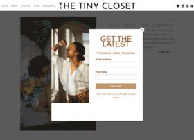 thetinycloset.com