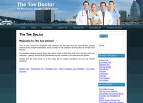 thetoedoctor.com