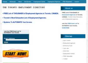 thetorontoemploymentdirectory.com