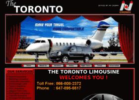 thetorontolimousine.com