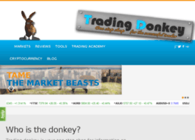 thetradingdonkey.com