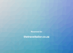 thetraveltailor.co.za