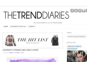 thetrenddiaries.com