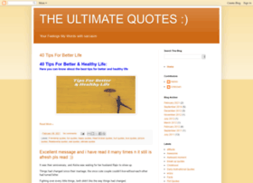 theultimatequotes.blogspot.in