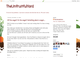 theunfruitfulyard.blogspot.com