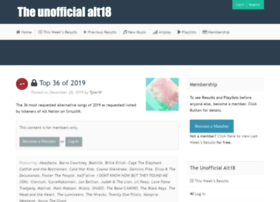 theunofficialalt18countdownplaylists.com