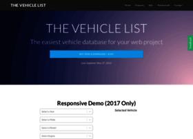thevehiclelist.com