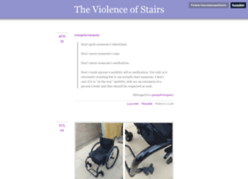 theviolenceofstairs.tumblr.com