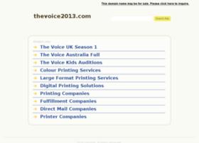 thevoice2013.com