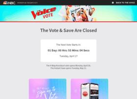thevoicevote.votenow.tv