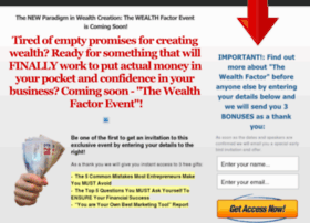 thewealthfactorevent.com