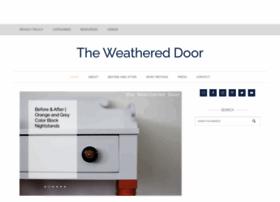 theweathereddoor.blogspot.com