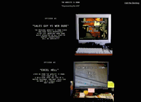 thewebsiteisdown.com