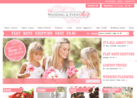 theweddingandeventshop.com.au