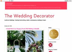 theweddingdecorator.blogspot.com