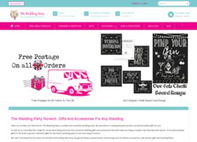 Theweddingparty.co.uk