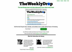 theweeklydrop.com