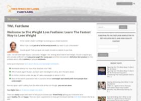 theweightlossfastlane.com