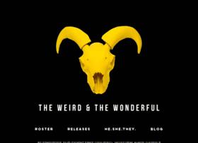 theweirdandthewonderful.com