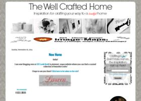 thewellcraftedhome.blogspot.com