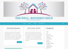 thewellroundedchild.com