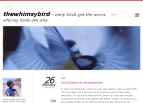 thewhimsybird.wordpress.com